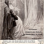 France sanctifies their children before the Sacred Heart of Jesus, Sergey Sergeyevich Solomko