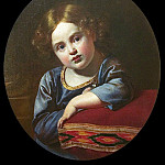 Portrait of Prince EG Gagarin child. 1816-17 ES AV Mamonova, France, Orest Adamovich Kiprensky