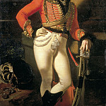 Orest Adamovich Kiprensky - Portrait of the Life Hussar Colonel Yevgraf Vladimirovich Davydov. 1809 Oil on canvas. 162h116 RM