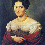 Orest Adamovich Kiprensky - Portrait of an unknown. 1820. Parkhomovka