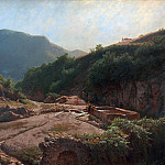 Lev (1827-1905) Lagorio - Fountain Hannibal in Rocca di Papa near Rome