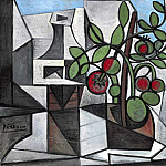 1944 Carafe et plant de tomate, Pablo Picasso (1881-1973) Period of creation: 1943-1961