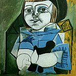 Pablo Picasso (1881-1973) Period of creation: 1943-1961 - 1952 Paloma en bleu