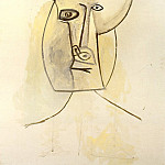 1958 TИte cornue II, Pablo Picasso (1881-1973) Period of creation: 1943-1961