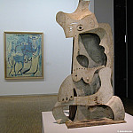 1961 Femme au chapeau, Pablo Picasso (1881-1973) Period of creation: 1943-1961