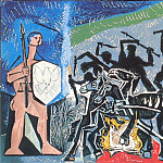 Pablo Picasso (1881-1973) Period of creation: 1943-1961 - 1952 La guerre et La paix [Рtude]