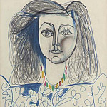 1946 Buste de femme , Pablo Picasso (1881-1973) Period of creation: 1943-1961