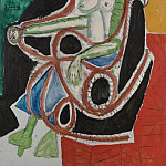 1956 Femme dans un rocking-chair, Pablo Picasso (1881-1973) Period of creation: 1943-1961