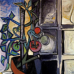Pablo Picasso (1881-1973) Period of creation: 1943-1961 - 1944 Plant de tomates