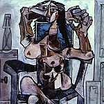 1959 Femme nue assise II, Pablo Picasso (1881-1973) Period of creation: 1943-1961