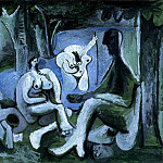 Pablo Picasso (1881-1973) Period of creation: 1943-1961 - 1961 Le dВjeuner sur lherbe (Manet) 6