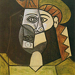 1947 TИte de femme, Pablo Picasso (1881-1973) Period of creation: 1943-1961