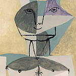 1960 Faune, Pablo Picasso (1881-1973) Period of creation: 1943-1961