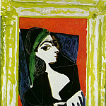 Pablo Picasso (1881-1973) Period of creation: 1943-1961 - 1957 Portrait de Jacqueline 1