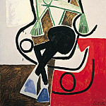 1956 Femme dans un fauteuil Е bascule, Pablo Picasso (1881-1973) Period of creation: 1943-1961