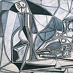 Pablo Picasso (1881-1973) Period of creation: 1943-1961 - 1952 CrГne de chКvre, bouteille et bougie