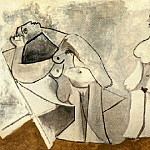 1958 Deux femmes assises, Pablo Picasso (1881-1973) Period of creation: 1943-1961