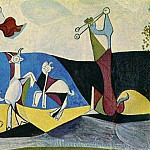 Pablo Picasso (1881-1973) Period of creation: 1943-1961 - 1946 La joie de vivre (Pastorale)