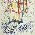 Pablo Picasso (1881-1973) Period of creation: 1943-1961 - 1946 Portrait de FranЗoise 1