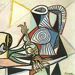 1945 Poireaux, crГne et pichet 4, Pablo Picasso (1881-1973) Period of creation: 1943-1961