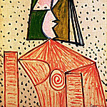 Pablo Picasso (1881-1973) Period of creation: 1943-1961 - 1944 Buste de femme 1
