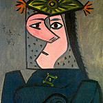 Pablo Picasso (1881-1973) Period of creation: 1943-1961 - 1943 Buste de femme R