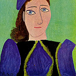 1943 Portrait de femme , Pablo Picasso (1881-1973) Period of creation: 1943-1961