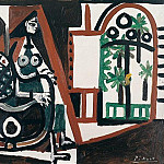 1956 Femme dans latelier III, Pablo Picasso (1881-1973) Period of creation: 1943-1961
