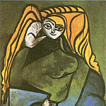 Pablo Picasso (1881-1973) Period of creation: 1943-1961 - 1952 Portrait de Madame HВlКne Parmelin