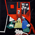 Pablo Picasso (1881-1973) Period of creation: 1943-1961 - 1957 les menines daprКs Velasquez