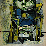 Pablo Picasso (1881-1973) Period of creation: 1943-1961 - 1951 Paloma Е lorange