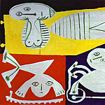 Pablo Picasso (1881-1973) Period of creation: 1943-1961 - 1951 FranЗoise Gilot avec Claude et Paloma
