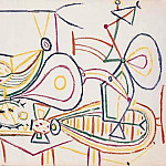 1948 Nature morte aux figues, Pablo Picasso (1881-1973) Period of creation: 1943-1961