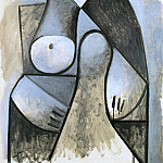 Pablo Picasso (1881-1973) Period of creation: 1943-1961 - 1947 Femme assise