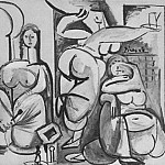 1954 Les femmes dAlger II, Pablo Picasso (1881-1973) Period of creation: 1943-1961