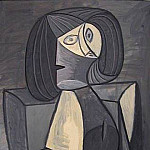 1945 Femme en gris, Pablo Picasso (1881-1973) Period of creation: 1943-1961