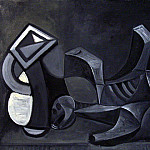 Pablo Picasso (1881-1973) Period of creation: 1943-1961 - 1945 Pichet et squelette