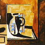1955 Nature morte sur une commode, Pablo Picasso (1881-1973) Period of creation: 1943-1961