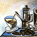 Pablo Picasso (1881-1973) Period of creation: 1943-1961 - 1943 CafetiКre