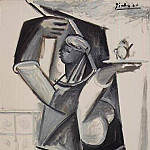 1955 Les femmes dAlger VII, Pablo Picasso (1881-1973) Period of creation: 1943-1961