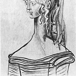 1954 Portrait de Sylvette David 31 Е la blouse rayВe, Pablo Picasso (1881-1973) Period of creation: 1943-1961
