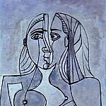 1958 Femme debout, Pablo Picasso (1881-1973) Period of creation: 1943-1961