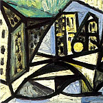 Pablo Picasso (1881-1973) Period of creation: 1943-1961 - 1944 Notre-Dame 1
