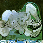 1961 Femme nue allongВe III, Pablo Picasso (1881-1973) Period of creation: 1943-1961