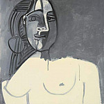 Pablo Picasso (1881-1973) Period of creation: 1943-1961 - 1953 Buste de femme