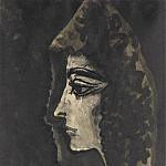 1960 Espagnole de profil IV, Pablo Picasso (1881-1973) Period of creation: 1943-1961