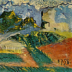 1958 Paysage, Pablo Picasso (1881-1973) Period of creation: 1943-1961