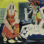 1955 Les femmes dAlger X, Pablo Picasso (1881-1973) Period of creation: 1943-1961