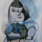 Pablo Picasso (1881-1973) Period of creation: 1943-1961 - 1952 Paloma Е la poupВe