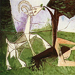 Pablo Picasso (1881-1973) Period of creation: 1943-1961 - 1956 Le printemps
